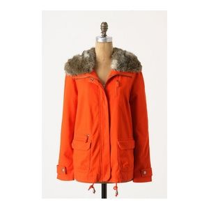Daughters of the Liberation Flounced Pintuck Parka